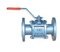 3 Pcs Design Ball Valve Full Bore PN10-16-25-40